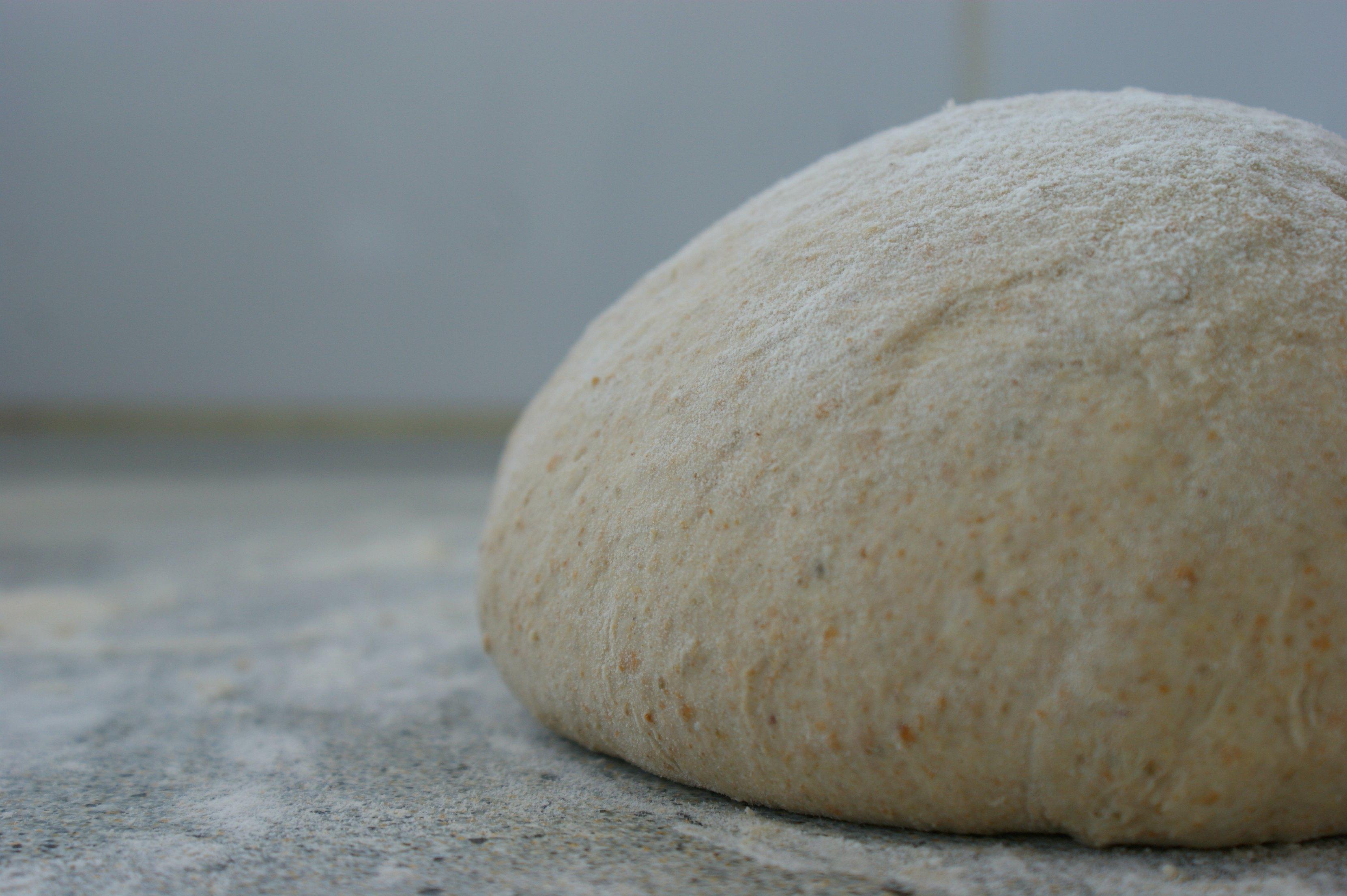 A boule of bread