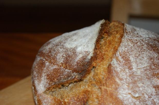 A homemade loaf