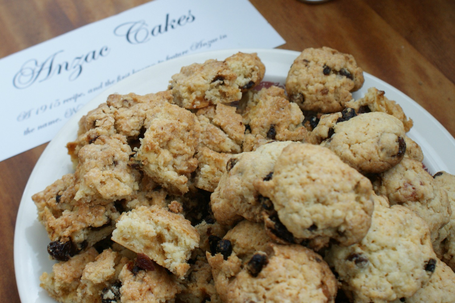 Anzac Cakes, original Anzac biscuit